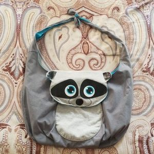 Other - Raccoon Shoulder Bag Backpack Purse Luggage